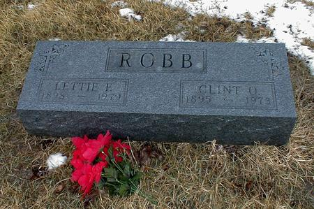ROBB, LETTIE FERN - Appanoose County, Iowa | LETTIE FERN ROBB