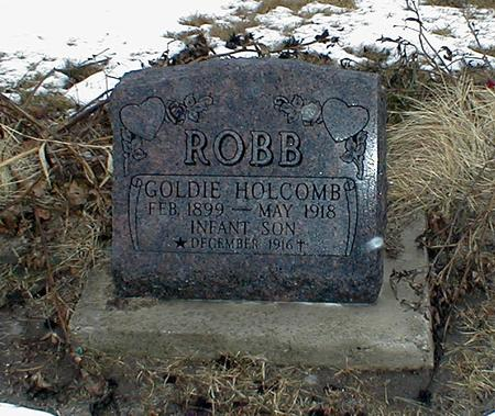 ROBB, GOLDIE HOLCOMB - Appanoose County, Iowa | GOLDIE HOLCOMB ROBB