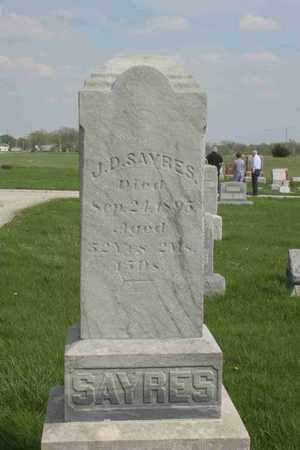 SAYRES, J.D. - Appanoose County, Iowa | J.D. SAYRES