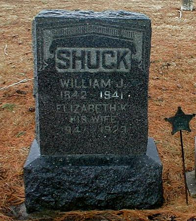 SHUCK, WILLIAM JACKSON - Appanoose County, Iowa | WILLIAM JACKSON SHUCK