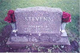 STEVENS, JOSEPH A. - Appanoose County, Iowa | JOSEPH A. STEVENS