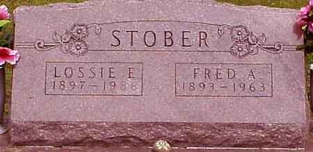 COOKSEY STOBER, LOSSIE ELIZABETH - Appanoose County, Iowa | LOSSIE ELIZABETH COOKSEY STOBER