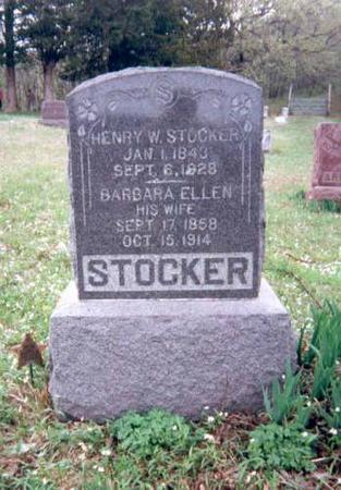 STOCKER, HENRY W AND BARBARA ELLEN DALE - Appanoose County, Iowa | HENRY W AND BARBARA ELLEN DALE STOCKER