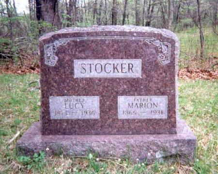 STOCKER, LUCY AND MARION - Appanoose County, Iowa | LUCY AND MARION STOCKER