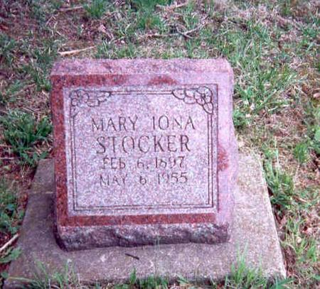 STOCKER, MARY IONA - Appanoose County, Iowa | MARY IONA STOCKER