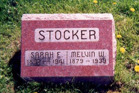 STOCKER, MELVIN WEALTHY - Appanoose County, Iowa | MELVIN WEALTHY STOCKER
