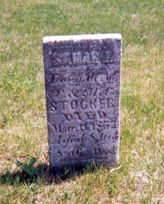 STOCKER, SARAH J - Appanoose County, Iowa | SARAH J STOCKER