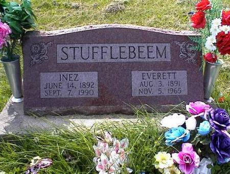 STUFFLEBEEM, INEZ & EVERETT - Appanoose County, Iowa | INEZ & EVERETT STUFFLEBEEM