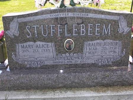 STUFFLEBEEM, RALPH JUNIOR & MARY ALICE - Appanoose County, Iowa | RALPH JUNIOR & MARY ALICE STUFFLEBEEM