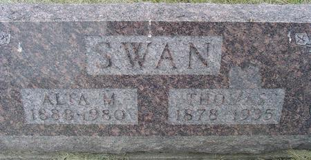 SWAN, THOMAS - Appanoose County, Iowa | THOMAS SWAN