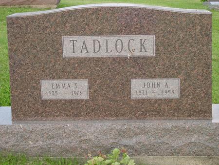 SWAIM TADLOCK, EMMA S. - Appanoose County, Iowa | EMMA S. SWAIM TADLOCK