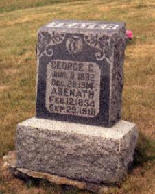 MCCLEARY TEATER, ASENATH - Appanoose County, Iowa | ASENATH MCCLEARY TEATER