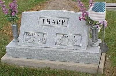 THARP, MAX CARROL - Appanoose County, Iowa | MAX CARROL THARP
