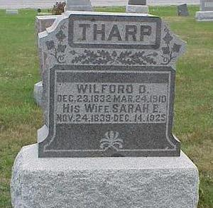 THARP, SARAH - Appanoose County, Iowa | SARAH THARP
