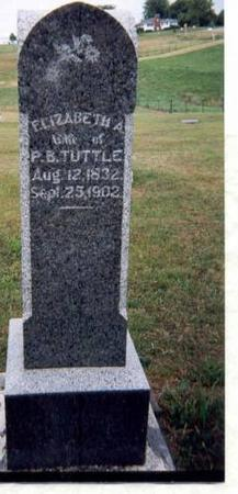 TUTTLE, ELIZABETH - Appanoose County, Iowa | ELIZABETH TUTTLE
