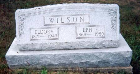 WILSON, ELDORA - Appanoose County, Iowa | ELDORA WILSON
