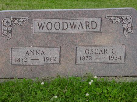 BOYER WOODWARD, ANNA - Appanoose County, Iowa | ANNA BOYER WOODWARD