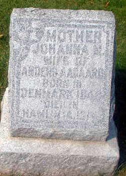 AAGAARD, JOHANNA M. - Audubon County, Iowa | JOHANNA M. AAGAARD