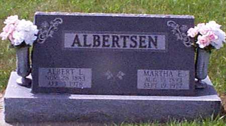 HANSEN ALBERTSEN, MARTHA ELIZABETH - Audubon County, Iowa | MARTHA ELIZABETH HANSEN ALBERTSEN
