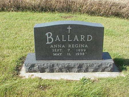 THIELEN BALLARD, ANNA  REGINA - Audubon County, Iowa | ANNA  REGINA THIELEN BALLARD