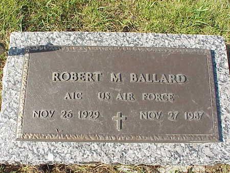 BALLARD, ROBERT M. - Audubon County, Iowa | ROBERT M. BALLARD