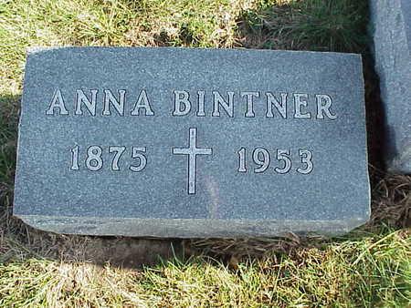LORENTZ BINTNER, ANNA - Audubon County, Iowa | ANNA LORENTZ BINTNER