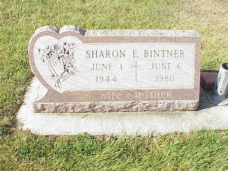 BINTNER, SHARON  E. - Audubon County, Iowa | SHARON  E. BINTNER