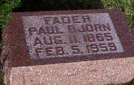 BJORN, PAUL - Audubon County, Iowa | PAUL BJORN