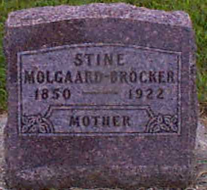 MOLGAARD BROCKER, STINE - Audubon County, Iowa | STINE MOLGAARD BROCKER