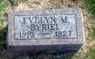 BYRIEL, EVELYN M. - Audubon County, Iowa | EVELYN M. BYRIEL