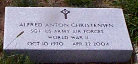 CHRISTENSEN, ALFRED ANTON - Audubon County, Iowa | ALFRED ANTON CHRISTENSEN