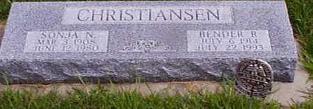 CHRISTENSEN, SONJA EGEDIA - Audubon County, Iowa | SONJA EGEDIA CHRISTENSEN