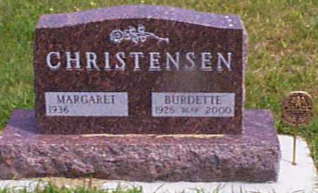 CHRISTENSEN, MARGARET - Audubon County, Iowa | MARGARET CHRISTENSEN