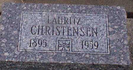 CHRISTENSEN, LAURITZ - Audubon County, Iowa | LAURITZ CHRISTENSEN