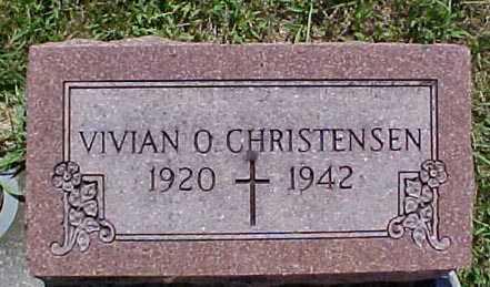 CHRISTENSEN, VIVIAN O. - Audubon County, Iowa | VIVIAN O. CHRISTENSEN