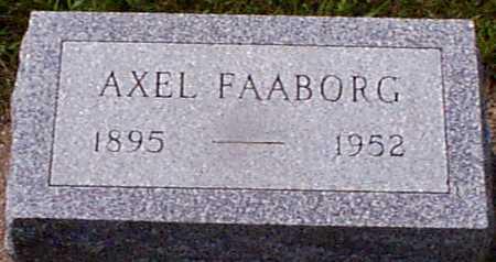 FAABORG, AXEL - Audubon County, Iowa | AXEL FAABORG
