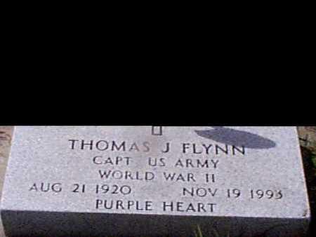 FLYNN, THOMAS J - Audubon County, Iowa   THOMAS J FLYNN