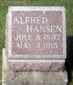 HANSEN, ALFRED - Audubon County, Iowa | ALFRED HANSEN