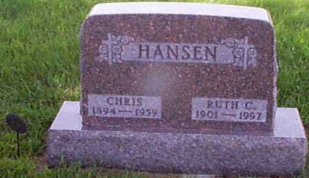 HANSEN, CHRIS - Audubon County, Iowa | CHRIS HANSEN