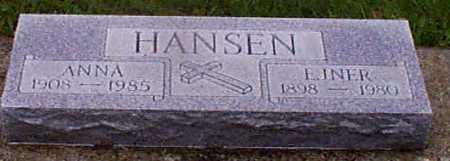 HANSEN, EINAR - Audubon County, Iowa | EINAR HANSEN