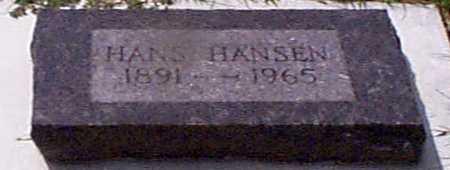 HANSEN, HANS - Audubon County, Iowa | HANS HANSEN