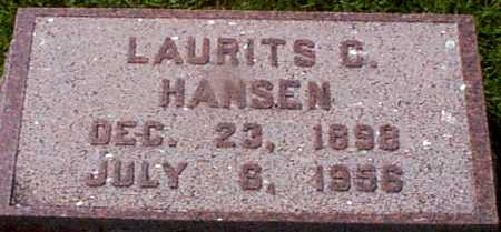 HANSEN, LAURITS C - Audubon County, Iowa | LAURITS C HANSEN