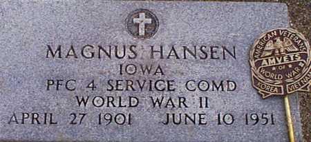 HANSEN, MAGNUS - Audubon County, Iowa | MAGNUS HANSEN