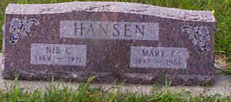 HANSEN, MARY P - Audubon County, Iowa | MARY P HANSEN