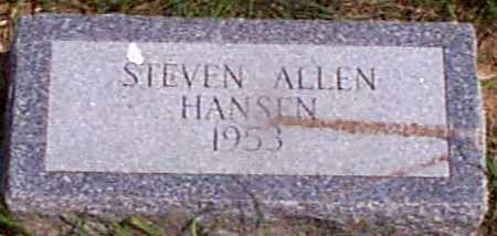 HANSEN, STEVEN ALLEN - Audubon County, Iowa | STEVEN ALLEN HANSEN