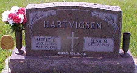 HARTVIGSEN, MERLE E - Audubon County, Iowa | MERLE E HARTVIGSEN