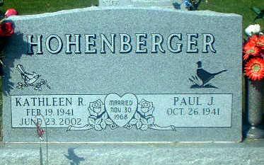 HOHENBERGER, KATHLEEN R. - Audubon County, Iowa | KATHLEEN R. HOHENBERGER