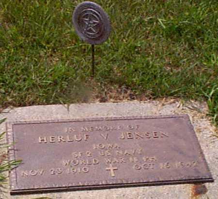 JENSEN, HERLUF V - Audubon County, Iowa | HERLUF V JENSEN