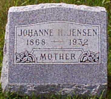 JENSEN, JOHANNE H - Audubon County, Iowa | JOHANNE H JENSEN