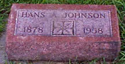 JOHNSON, HANS A - Audubon County, Iowa | HANS A JOHNSON